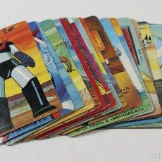 Barajas de cartas: BARAJA INFANTIL MAZINGER Z - CARTAS SUELTAS. Lote 134359757