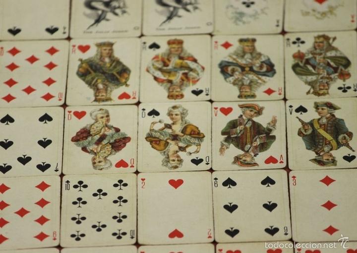 Barajas de cartas: BARAJA DE POKER. 54 CARTAS. JMC. FABRICADO EN SUIZA. SIGLO XIX. - Foto 2 - 58373775