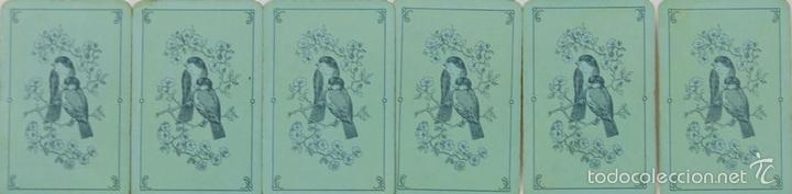 Barajas de cartas: BARAJA DE POKER. 54 CARTAS. JMC. FABRICADO EN SUIZA. SIGLO XIX. - Foto 6 - 58373775