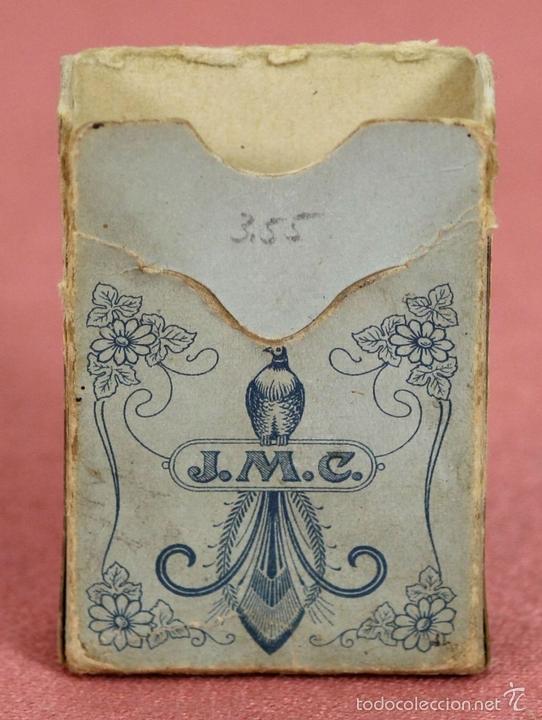 Barajas de cartas: BARAJA DE POKER. 54 CARTAS. JMC. FABRICADO EN SUIZA. SIGLO XIX. - Foto 7 - 58373775