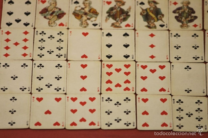 Barajas de cartas: BARAJA DE POKER. 54 CARTAS. JMC. FABRICADO EN SUIZA. SIGLO XIX. - Foto 10 - 58373775
