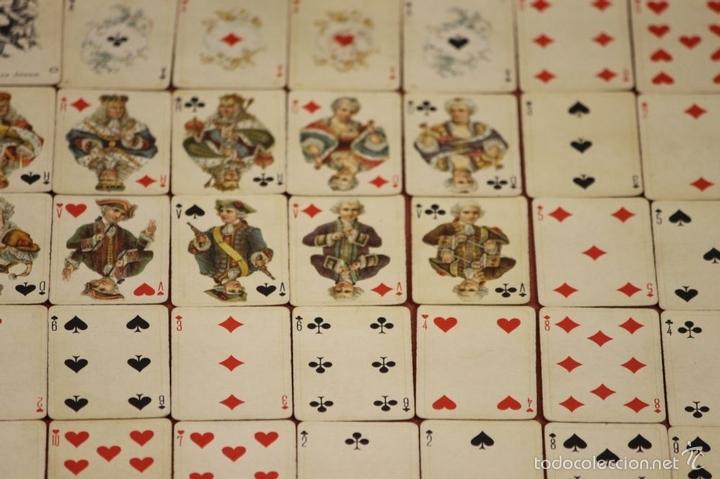 Barajas de cartas: BARAJA DE POKER. 54 CARTAS. JMC. FABRICADO EN SUIZA. SIGLO XIX. - Foto 11 - 58373775