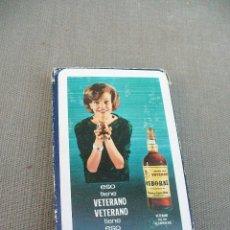 Barajas de cartas: BARAJA DE CARTAS PUBLICIDAD DE VETERANO OSBORNE - HERACLIO FOURNIER Nº 27 . Lote 58415585