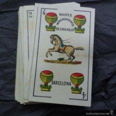 Barajas de cartas: BARAJA CARTAS EL CABALLO - MODELO CATALAN BARCELONA 1908 - DE LUIS GUARRO. Lote 58420350
