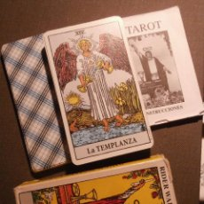 Barajas de cartas: BARAJA - TAROT - EL MAGO - RIDER WAITE - CON CAJA E INSTRUCCIONES -. Lote 58453640
