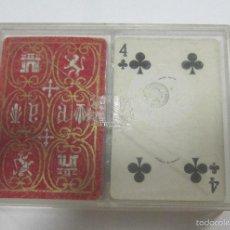 Barajas de cartas: LOTE DE 2 BARAJAS DE CARTAS. HERALDICA. PRECINTADAS. CON CAJA. VER. Lote 58460602
