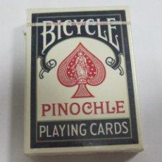 Barajas de cartas: BARAJA DE CARTAS. BICYCLE. PINOCHLE 48. PRECINTADA. VER. Lote 58460724