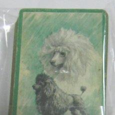 Barajas de cartas: BARAJA DE CARTAS. POKER. ANIMALES. PERROS. VER. Lote 58461359