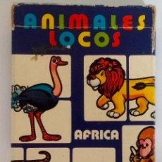 Barajas de cartas: BARAJA INFANTIL ANIMALES LOCOS. Lote 58483722