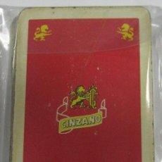 Barajas de cartas: BARAJA DE CARTAS. PUBLICITARIA. CINZANO. POKER.. Lote 58491848