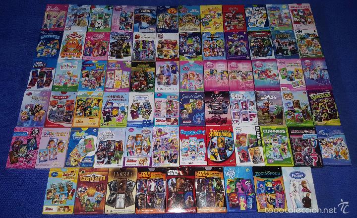 LOTE DE 69 BARAJAS INFANTILES - FOURNIER ¡IMPECABLES! (Juguetes y Juegos - Cartas y Naipes - Barajas Infantiles)