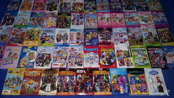Barajas de cartas: Lote de 69 barajas infantiles - Fournier ¡Impecables! - Foto 2 - 58501642