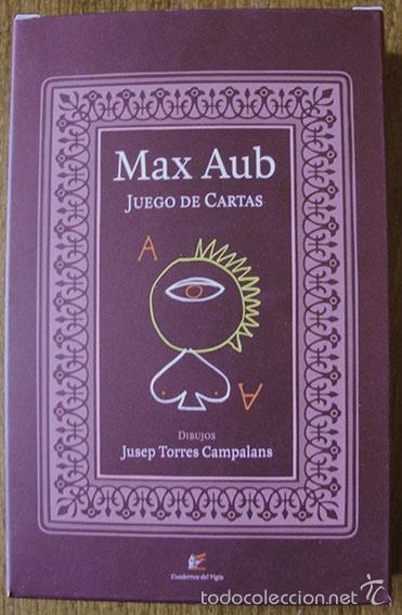 MAX AUB - JUEGO DE CARTAS - DIBUJOS DE JUSEP TORRES CAMPALANS (Juguetes y Juegos - Cartas y Naipes - Otras Barajas)