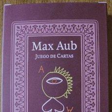 Barajas de cartas: MAX AUB - JUEGO DE CARTAS - DIBUJOS DE JUSEP TORRES CAMPALANS. Lote 58541534
