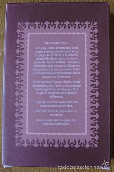 Barajas de cartas: MAX AUB - JUEGO DE CARTAS - DIBUJOS DE JUSEP TORRES CAMPALANS - Foto 3 - 58541534