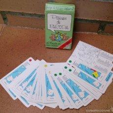 Barajas de cartas: JUEGO DE CARTAS BARAJA NAIPES FOURNIER PAÍSES DE EUROPA . Lote 58553654