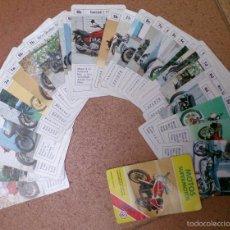 Barajas de cartas: JUEGO DE CARTAS BARAJA NAIPES FOURNIER MOTOS SUPERMOTOS. Lote 58553693
