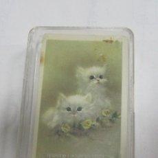 Barajas de cartas: BARAJA DE CARTAS. POKER. ANIMALES. GATOS. VER. Lote 58576156
