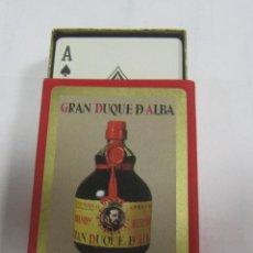 Barajas de cartas: BARAJA DE CARTAS. CON CAJA. PUBLICITARIA. GRAN DUQUE DE ALBA. POKER.. Lote 58576216