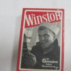 Barajas de cartas: BARAJA DE CARTAS. PUBLICITARIA. WINSTON. ESPAÑOLA. SIN ABRIR. PRECINTADA. Lote 58576444