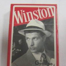 Barajas de cartas: BARAJA DE CARTAS. PUBLICITARIA. WINSTON. ESPAÑOLA. SIN ABRIR. PRECINTADA. Lote 58576605
