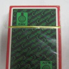 Barajas de cartas: BARAJA DE CARTAS. PUBLICITARIA. CAIXAVIGO. SIN ABRIR. PRECINTADA. Lote 58576640