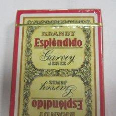 Barajas de cartas: BARAJA DE CARTAS. PUBLICITARIA. BRANDY ESPLENDIDO. GARVEY JEREZ. SIN ABRIR. PRECINTADA. Lote 58576667
