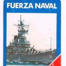 Barajas de cartas: FUERZA NAVAL CARTA REGLAMENTO JUEGO BARAJA FOUNIER 1987. Lote 58583424