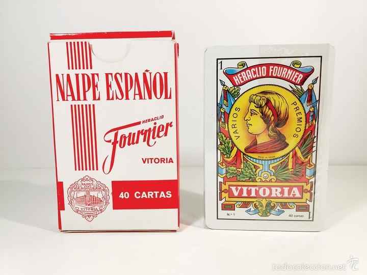 BARAJA H. FOURNIER DE CODORNIU - PRECINTADO - AÑOS 70/80 (Juguetes y Juegos - Cartas y Naipes - Baraja Española)