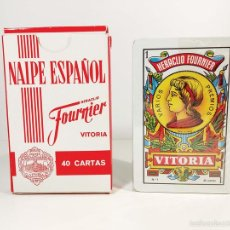 Barajas de cartas: BARAJA H. FOURNIER DE CODORNIU - PRECINTADO - AÑOS 70/80. Lote 58594672