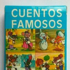 Barajas de cartas: BARAJA INFANTIL CUENTOS FAMOSOS. Lote 58595332