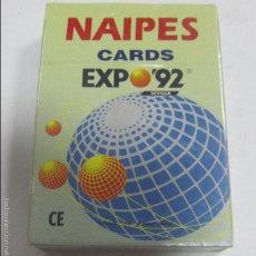 Barajas de cartas: BARAJA DE CARTAS. PUBLICITARIA. NAIPES CARDS EXPO'92. CURRO. Lote 58604511