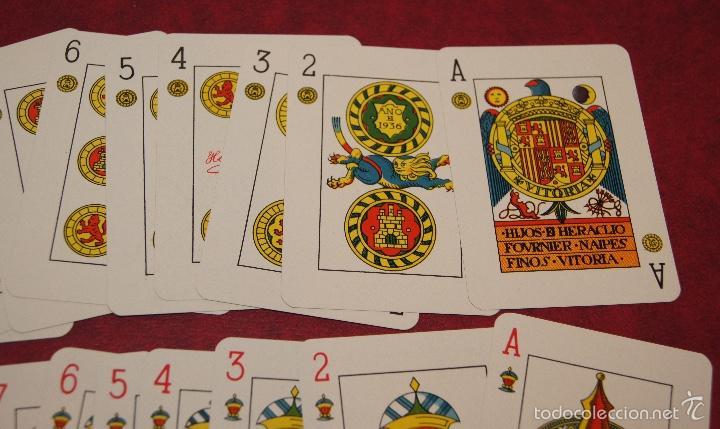 Barajas de cartas: BARAJA POKER ESPAÑOL Nº 20 1937 HIJOS DE HERACLIO FOURNIER VITORIA - Foto 2 - 58604518