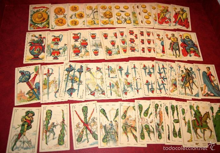 BARAJA CROMOS DON QUIJOTE COMPLETA 48 CARTAS PUBLICIDAD CHOCOLATES PI 1918 (Juguetes y Juegos - Cartas y Naipes - Baraja Española)