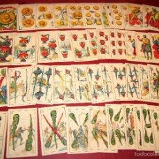 Barajas de cartas - BARAJA CROMOS DON QUIJOTE COMPLETA 48 CARTAS PUBLICIDAD CHOCOLATES PI 1918 - 58604781