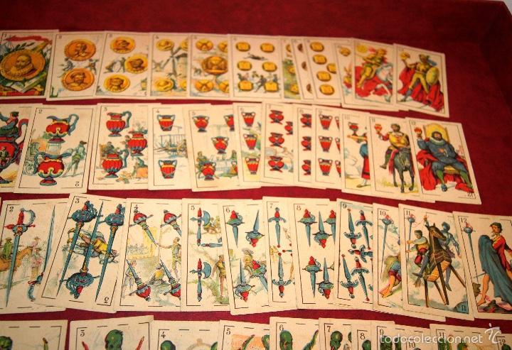 Barajas de cartas: BARAJA CROMOS DON QUIJOTE COMPLETA 48 CARTAS PUBLICIDAD CHOCOLATES PI 1918 - Foto 4 - 58604781