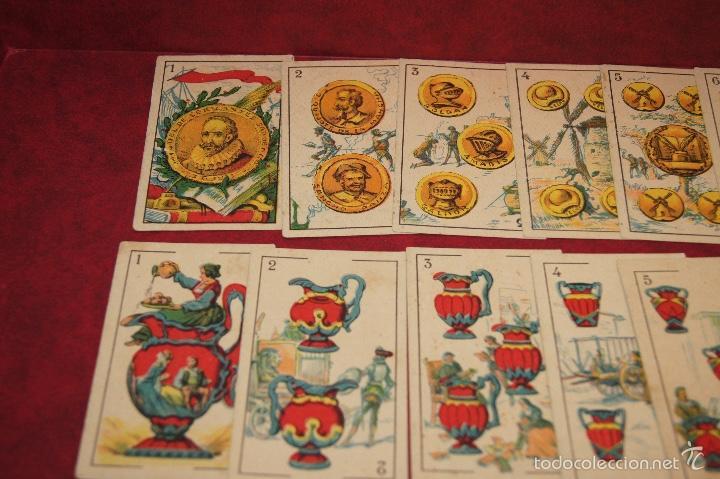 Barajas de cartas: BARAJA CROMOS DON QUIJOTE COMPLETA 48 CARTAS PUBLICIDAD CHOCOLATES PI 1918 - Foto 7 - 58604781
