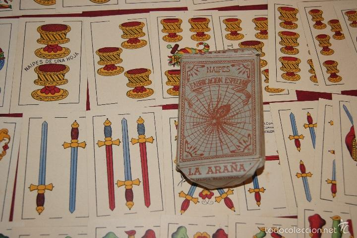 Barajas de cartas: BARAJA LA ARAÑA ILO-ILO HIJA DE ANTONIO COMAS BARCELONA 1932 - Foto 2 - 58604889