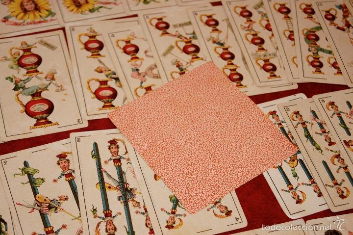 Barajas de cartas: BARAJA COMPLETA 48 CROMOS CHOCOLATES EL BARCO PEQUEÑA SIMEON DURA VALENCIA 1895 - Foto 7 - 58605061