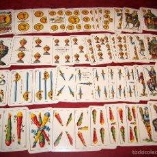 Barajas de cartas: BARAJA 48 NAIPES EL CIERVO Nº 8 HIJA DE ANTONO COMAS BARCELONA 1938. Lote 58605135