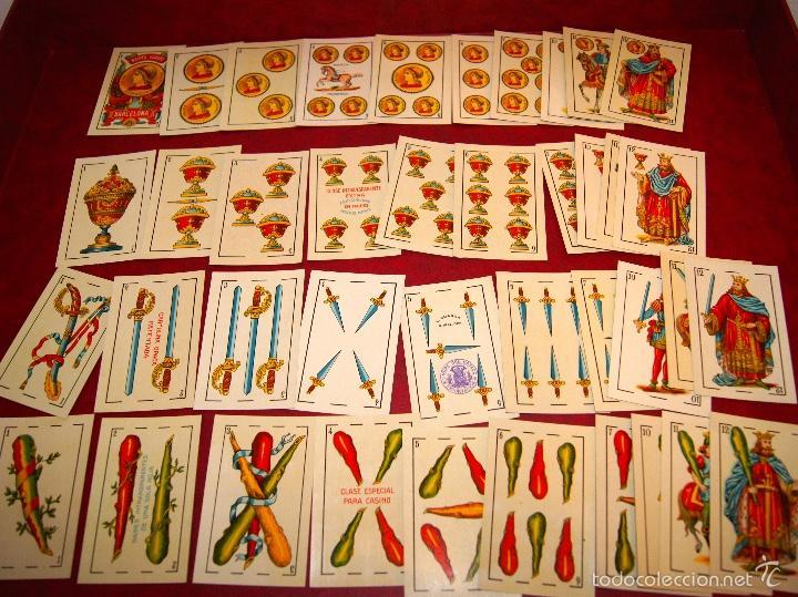 BARAJA 48 NAIPES LUIS GUARRO BARCELONA EL CABALLO PARA CASINOS 1907 (Juguetes y Juegos - Cartas y Naipes - Baraja Española)