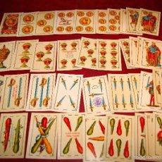 Barajas de cartas: BARAJA 48 NAIPES LUIS GUARRO BARCELONA EL CABALLO PARA CASINOS 1907. Lote 58605291