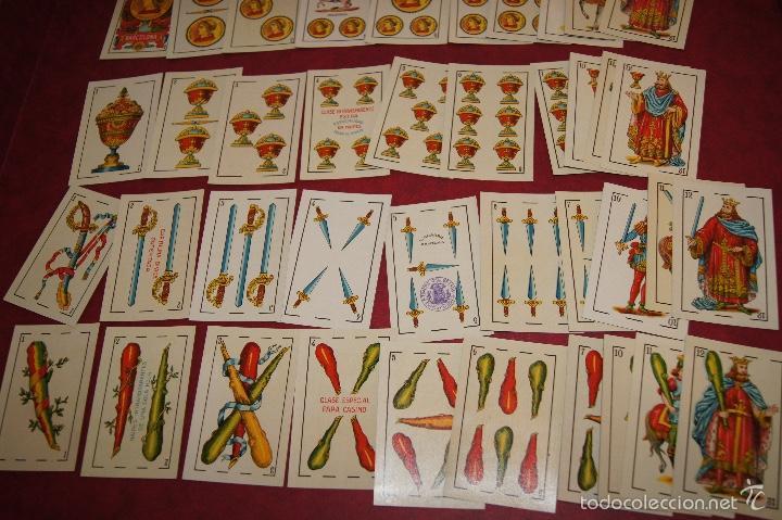 Barajas de cartas: BARAJA 48 NAIPES LUIS GUARRO BARCELONA EL CABALLO PARA CASINOS 1907 - Foto 5 - 58605291