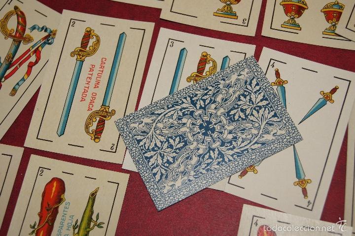 Barajas de cartas: BARAJA 48 NAIPES LUIS GUARRO BARCELONA EL CABALLO PARA CASINOS 1907 - Foto 6 - 58605291