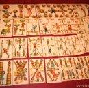 Barajas de cartas: BARAJA DE NIÑOS COMPLETA 48 CROMOS 1896 PUBLICIDAD CHOCOLATES A. SOLE ALSINA. BARCELONA. Lote 58605408