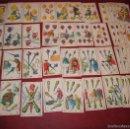 Barajas de cartas: BARAJA 48 CROMOS DON JUAN TENORIO PUBLICIDAD CHOCOLATES EVARISTO JUNCOSA 1920. Lote 58606222