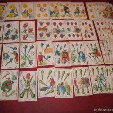 Barajas de cartas - BARAJA 48 CROMOS DON JUAN TENORIO PUBLICIDAD CHOCOLATES EVARISTO JUNCOSA 1920 - 58606222