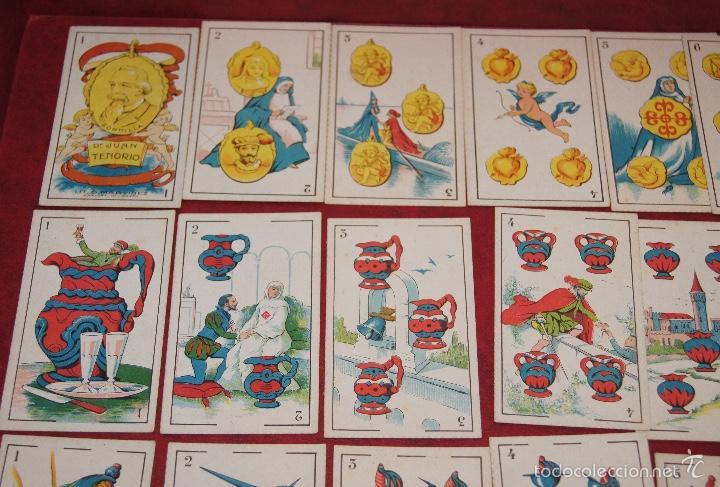 Barajas de cartas: BARAJA 48 CROMOS DON JUAN TENORIO PUBLICIDAD CHOCOLATES EVARISTO JUNCOSA 1920 - Foto 2 - 58606222