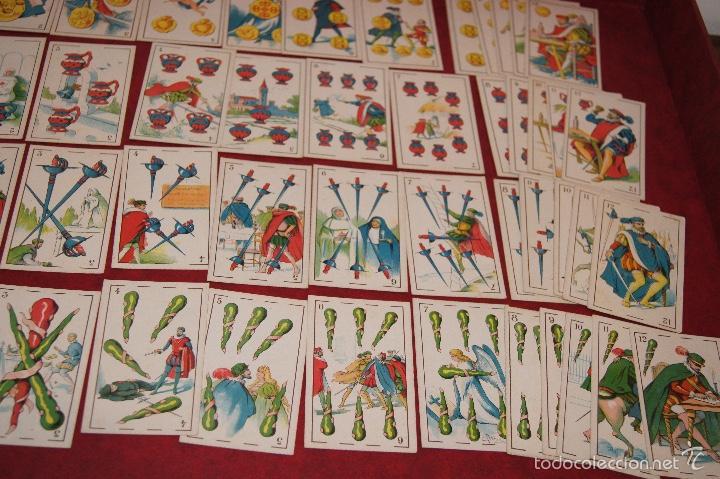 Barajas de cartas: BARAJA 48 CROMOS DON JUAN TENORIO PUBLICIDAD CHOCOLATES EVARISTO JUNCOSA 1920 - Foto 4 - 58606222