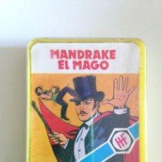 Barajas de cartas: 1978 HERACLIO FOURNIER CARTAS MINI MANDRAKE EL MAGO RARA CUBIERTA. COMPLETA. Lote 58620962